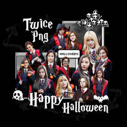 [300 WATCHERS] SPECIAL HALLOWEEN : TWICE PNG PACK by LEAlbum