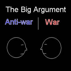 The big argument about the war