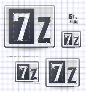 tango 7-zip vector