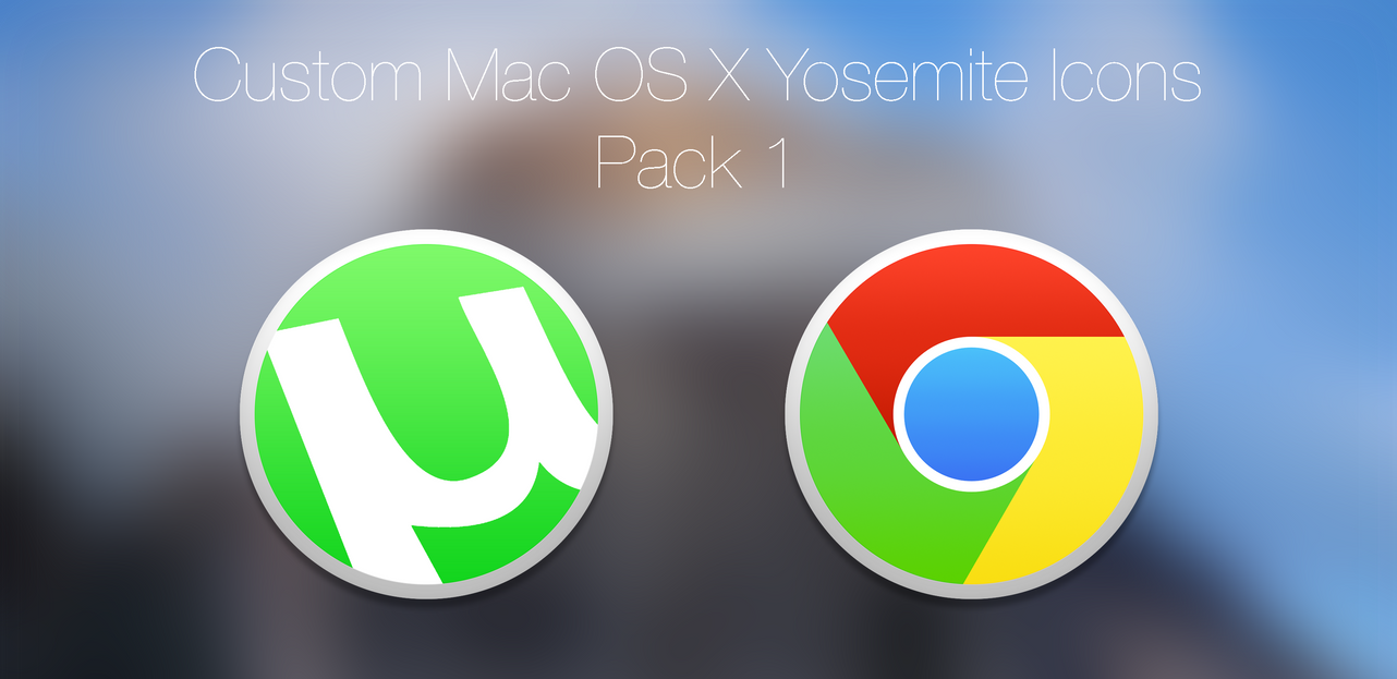 Google chrome themes yosemite - Utorrent And Google Chrome Icons By Mrgoodgriefing