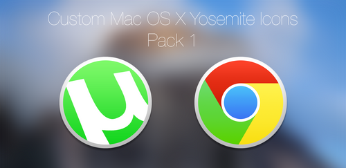 uTorrent and Google Chrome Icons!