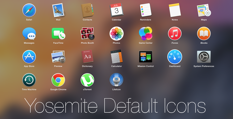 Yosemite Default Icons by MrGoodGriefing on DeviantArt