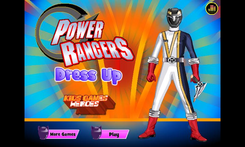 power rangers game dress up 2