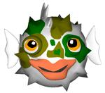 Rotating Pufferfish by Ljtigerlily