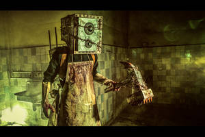 The Keeper (Boxman) Cosplay (from The Evil Within)