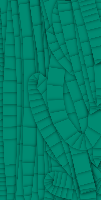 Teal Paper Worm by AdrenalineRush1996
