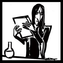 Snape Vs Snape animation by e-c-h