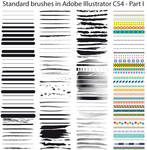 Standard brushes CS4 - Part I