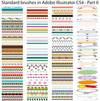 Standard brushes CS4 - Part II by Possy73