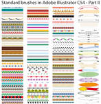 Standard brushes CS4 - Part II