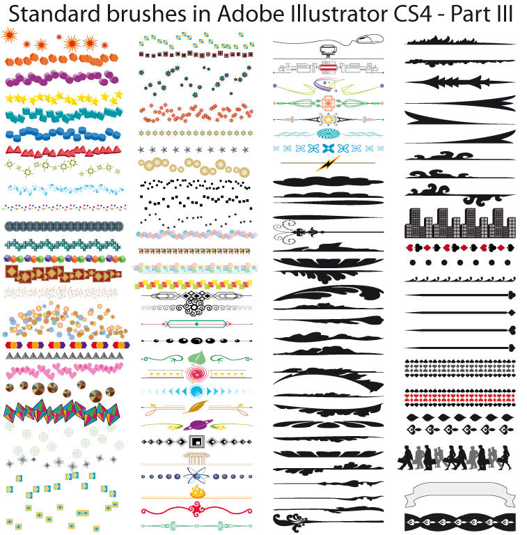 Standard brushes CS4- Part III by Possy73
