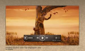 Metro Skin for MPlayer WW by Corgana