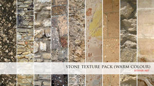 Stone Texture Pack- Warm Color