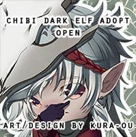 Forest Dark Elf Chibi Adopt [CLOSED]