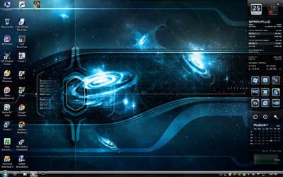 Blue icon with slidebar by SparkPlug93