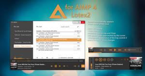 Lotex2 AIMP Skins by amdpastrana