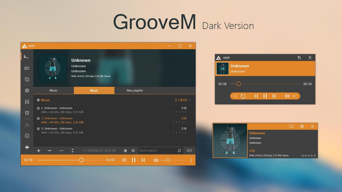 GrooveM (Dark) by amdpastrana