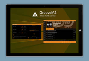 GrooveM2 AIO Black-White version by amdpastrana