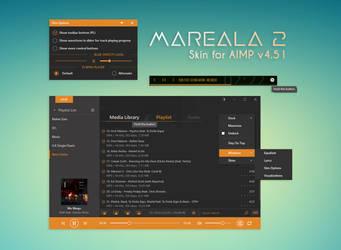 Mareala2 [skin for AIMP v4.51] by amdpastrana