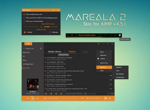Mareala2 [skin for AIMP v4.51]