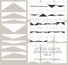 Web Ribbons 1 by moniquetendencia
