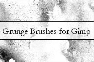 Gimp 2.2 Grunge Brush by agent-provocateur