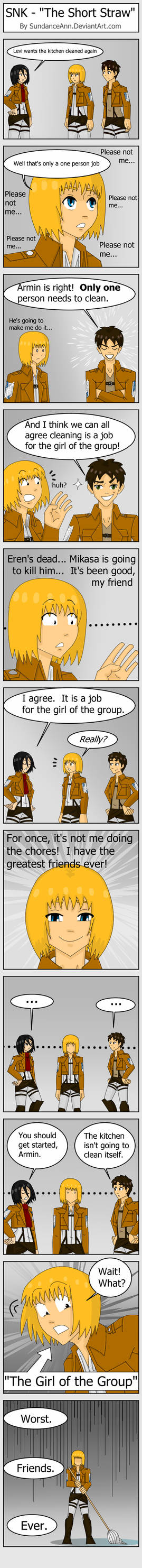 SNK - The Short Straw