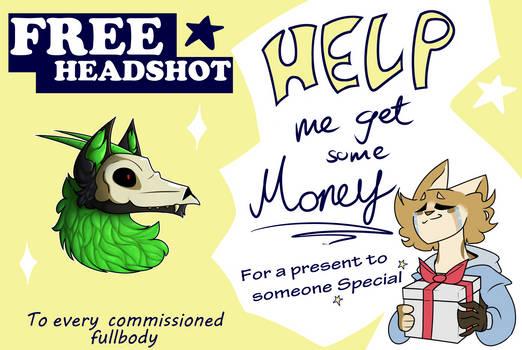 FREE HEADSHOT to EVERY fullbody! [CLOSED]