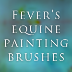 Equine Painting Brushes! by feverpaint