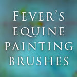 Equine Painting Brushes!