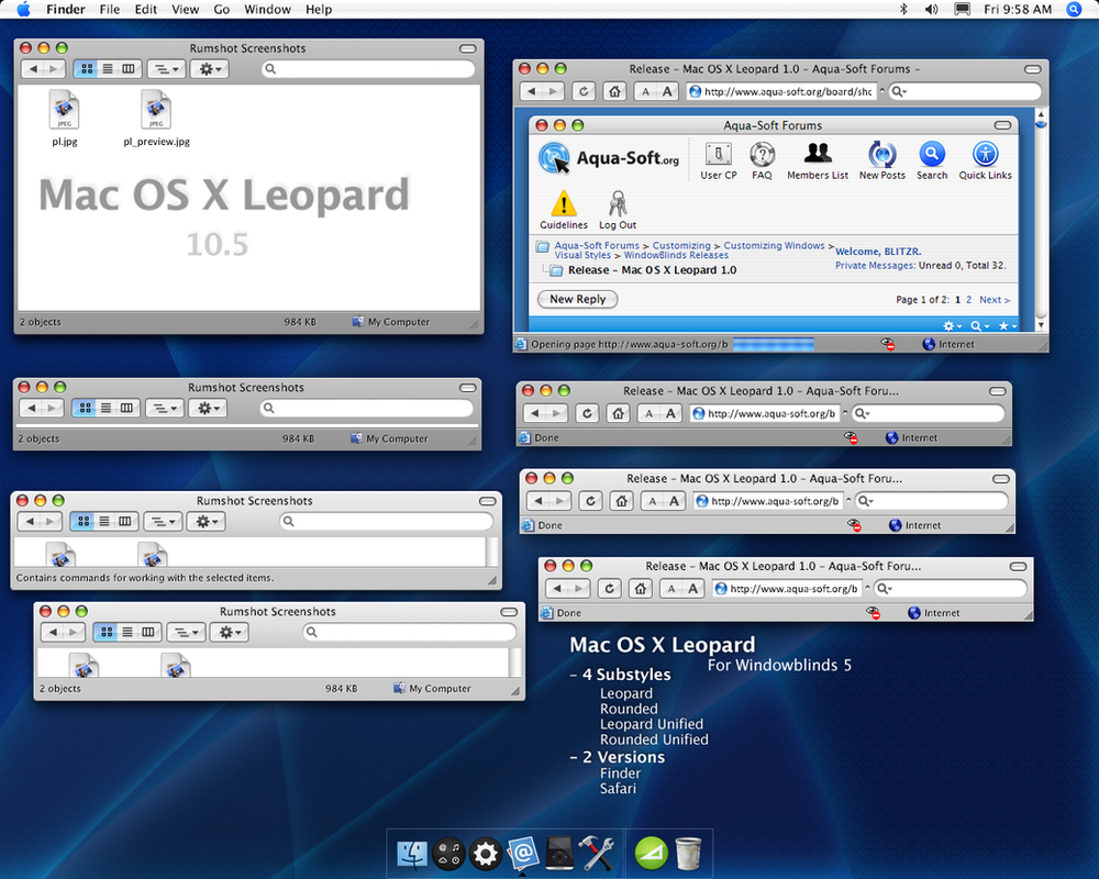 Mac os x leopard by blitzr on deviantart for Innenarchitektur mac os x
