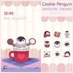 Cookie penguin by pikaole
