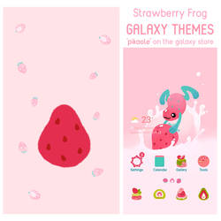 Strawberry frog themes
