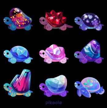 Jewel turtle