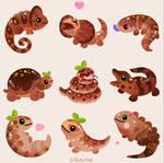 Chocolate Reptiles