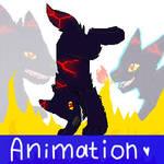FireWolf Animation by DarkMoonRAY