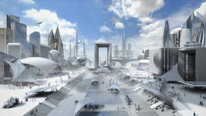 cloud city animation