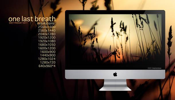 one last breath - wallpaper