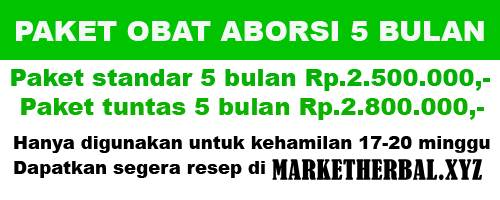 Obat Aborsi Usia 5 Bulan 08156534765 by marketherbal