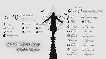 SA Weather Cast by SaberAkiyama
