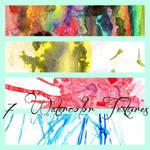 7 Watercolor Textures
