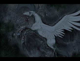 Angel Down by HorRaw-X