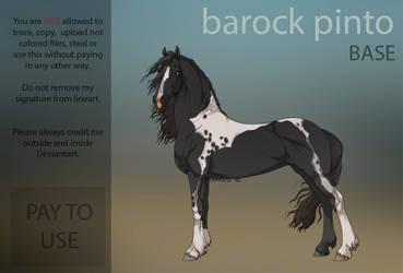 Barock pinto  P2U Base  by HorRaw-X
