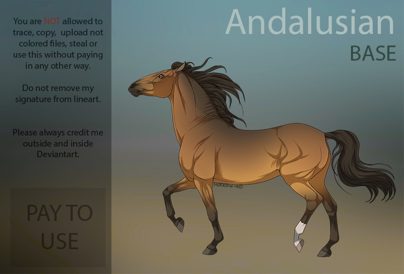 Andalusian  P2U Base  by HorRaw-X