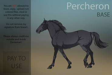 Percheron Base  PAY TO USE  by HorRaw-X