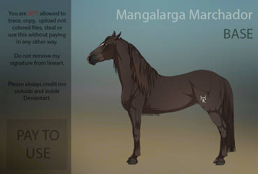 Mangalarga Marchador base  PAY TO USE  by HorRaw-X