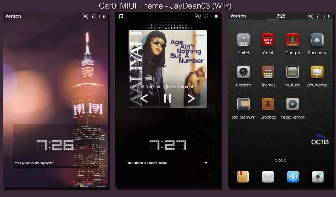 Google themes themebeta - Car0l Miui Theme Beta Wip By Jaydean03