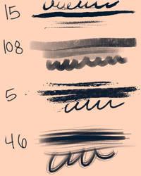Ps6 brushes by Pheberoni