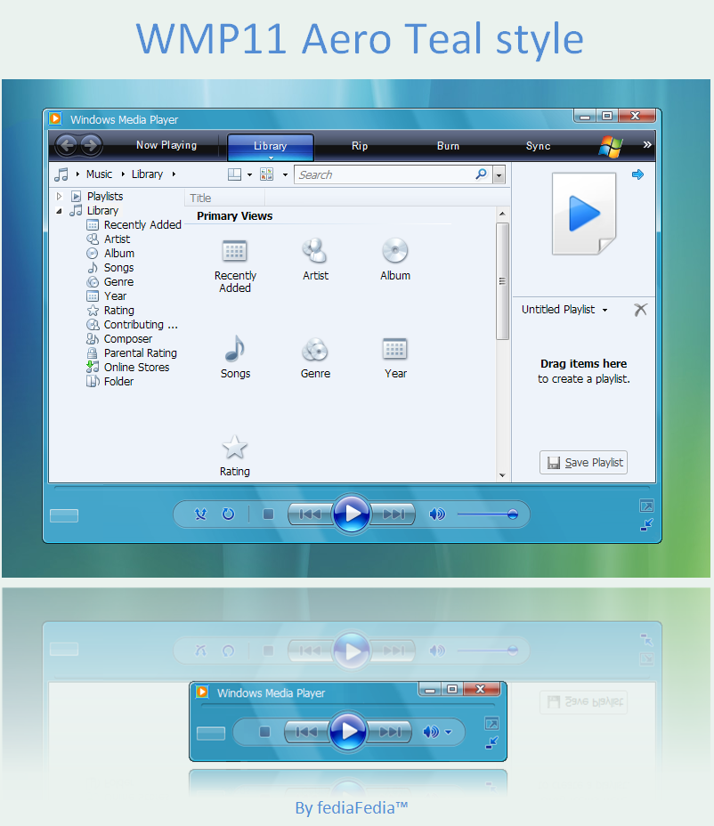 Windows Xp Theme File Software: Windows Media Player 11 Theme For Windows Xp 64 Bit