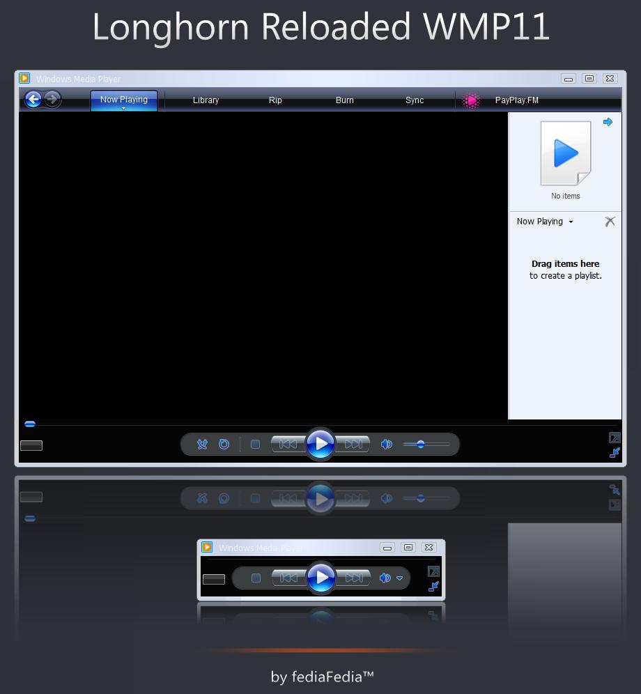 Longhorn Reloaded WMP11 by fediaFedia